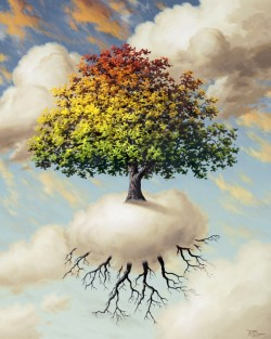 Happy Tree - giclee