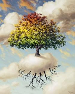 Happy Tree - giclee