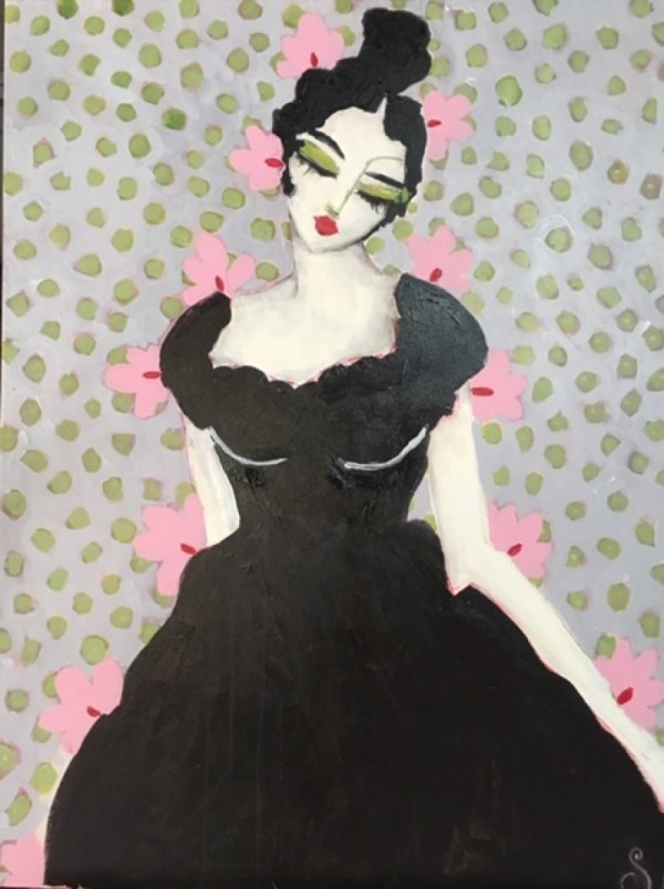Lady in Black SOLD
