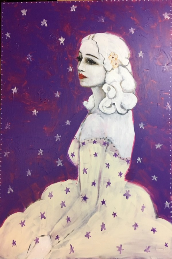 Girl With Star Dress