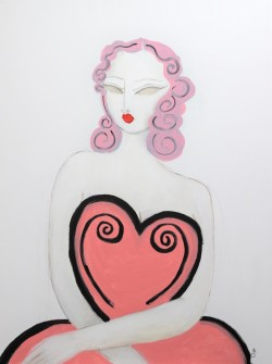 She Wears Her Heart on Her Sleeve