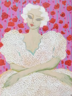 Lady with Poppies SOLD