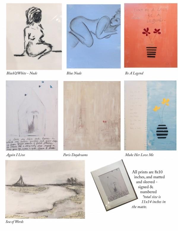 Art Prints on Paper